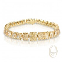 18K YELLOW DIAMOND BRACELET