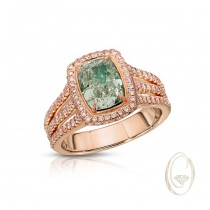 18K FANCY COLOR DIAMOND RING OCA39527