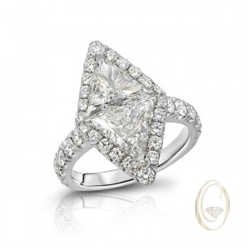 18K DIAMOND RING OCA39292