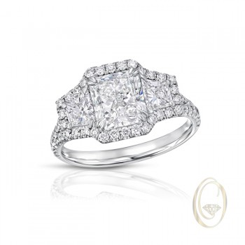 18K DIAMOND RING OCA40439